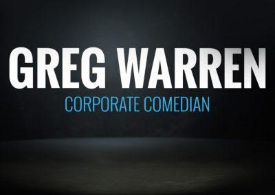 Greg Warren – Corporate Comedian