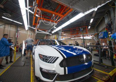 Ford Mustang NASCAR BTS